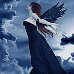 Аватар Готика, готические, темные, страшные, ужасные черные облака и девушка (© ), добавлено: 03.06.2008 19:52