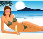 Аватар Девушка на пляже