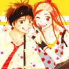 Аватар Отани и Риса / Otani & Risa из аниме Трогательный комлпекс / Lovely Complex (© Yuuko), добавлено: 05.06.2008 20:39