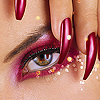 Аватар глаз и ногти (© Lintu), добавлено: 09.06.2008 22:10