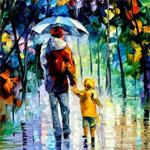 Аватар Рисунок папа и сын под дождем (© Леди_Интегра), добавлено: 15.06.2008 10:09