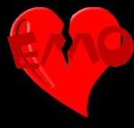 Аватар Эмо сердце
