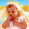 Аватар ангелочек нюхает цветочек (© Рифеста), добавлено: 26.07.2008 21:24
