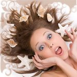 Аватар с ракушками в волосах (© Рифеста), добавлено: 27.08.2008 09:16