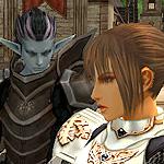 Аватар lineage 2, л2, l2, ла2 темный эльф смотрит на глада в мадже (© Леона), добавлено: 27.06.2008 11:30