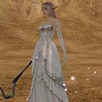 99px.ru аватар lineage 2, l2, ла2 светлая эльфийка в свадебном платье
