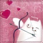Аватар Котик с сердечками (© Mirrorgirl), добавлено: 12.02.2009 15:59