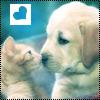 Аватар Щенок и котёнок (© Lintu), добавлено: 21.03.2009 21:16