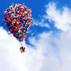 Аватар Большой воздушный шар из маленьких цветных шаров