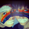 Аватар радуга на двух лицах людей (© Mirrorgirl), добавлено: 24.04.2009 03:02