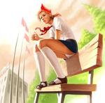 Аватар Пионерка а скамейке (© Magbet), добавлено: 26.04.2009 13:02