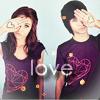 Аватар Алекс Эванс и девушка с сердечками на руках, любовь (© Mirrorgirl), добавлено: 30.04.2009 14:18