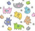 Аватар разноцветные киски (© Кошка гуляющая), добавлено: 19.05.2009 00:50