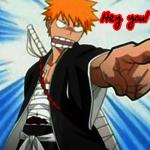 Аватар Ичиго из аниме Блич накажет тебя! (© ColniwKo), добавлено: 29.05.2009 21:43