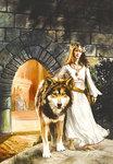Аватар Волк с принцессой (© Anatol), добавлено: 08.06.2009 16:31