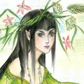 Аватар Нарисованная лесная эльфийка
