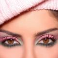 Аватар Черно-розовый макеяж