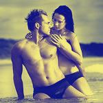 Аватар Романтическая пара на пляже