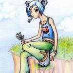 Аватар Девушка на скалистом берегу с цветами (© Ангел), добавлено: 24.07.2009 14:04