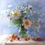 Аватар Букет с белыми лилиями от Nattallia Shloma
