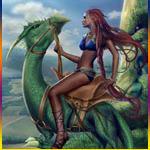 Аватар Верхом на драконе