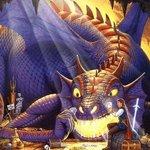 Аватар Принц сражается с драконом ... в карты