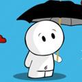 Аватар человечек с зонтиком (© Radieschen), добавлено: 18.08.2009 12:02