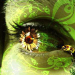 Аватар цветок в зрачке (© Ego), добавлено: 21.08.2009 13:56