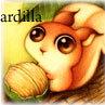 Аватар Рисунок белки с орешком (ardilla)