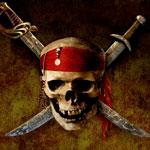 Аватар череп с кинжалами