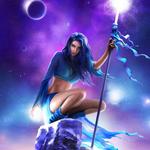Аватар Волшебница на камне