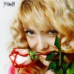 Аватар Блонди с цветами (© Ego), добавлено: 06.10.2009 18:30