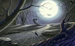 Аватар Паутинка, полная луна, летучие мыши, в общем, с наступающим праздничком! (© Anatol), добавлено: 30.10.2009 13:45