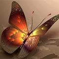 Аватар светящаяся бабочка