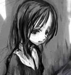 Аватар плачущая девчушка