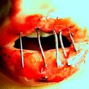 Аватар зашитый рот
