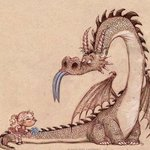Аватар Девочка здевается над драконом