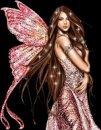 Аватар девушка бабочка...