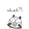 Аватар Панда в шоке ('What?')