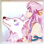 Аватар Анимешка и волк (© Юки-тян), добавлено: 16.01.2010 07:27