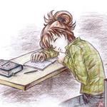 Аватар Заснула за учебниками