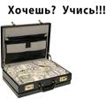 Аватар чемодан с деньгами, хочешь учись