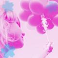 Аватар девушка с шарами