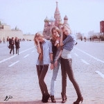 Аватар подруги на Красной площади