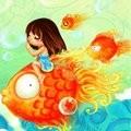 Аватар девочка и рыба (© аксинья), добавлено: 01.04.2010 09:10
