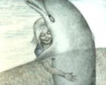 Аватар Девочка и дельфин