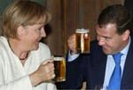 Аватар А. Меркель и Д. Медведев (© Anatol), добавлено: 12.04.2010 13:25
