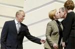 Аватар В. В. Путин, Дж. Буш с супругами (© Anatol), добавлено: 14.04.2010 17:46