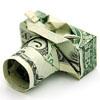 Аватар Фотоаппарат из долларовых банкнот