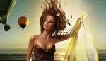 Аватар Девушка на фоне поднимающихся в небо воздушных шаров